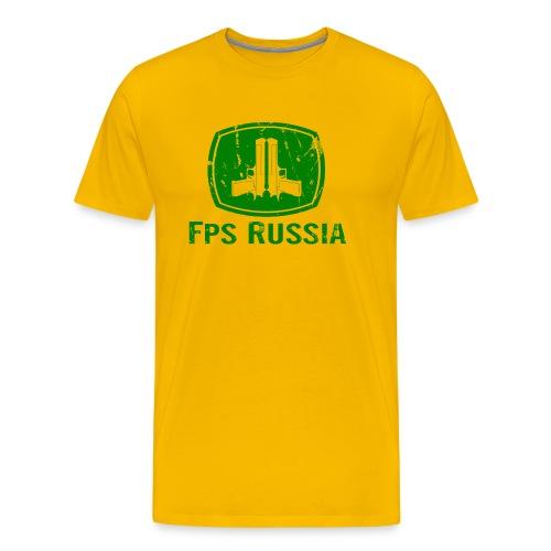 Premium Tee: Vintage Country FPS - Men's Premium T-Shirt