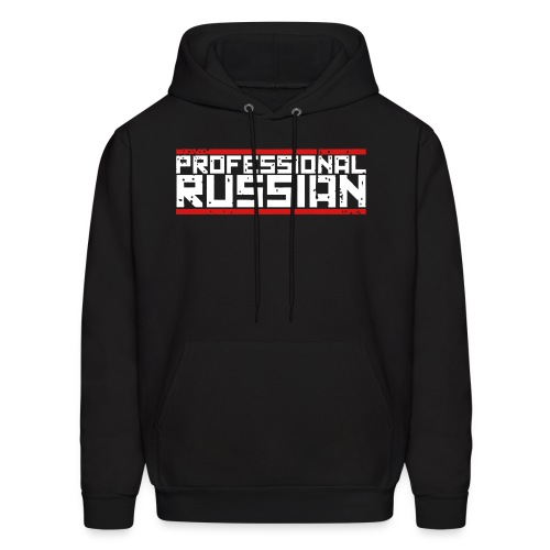 Hooded Sweater: Professional Russian - Men's Hoodie