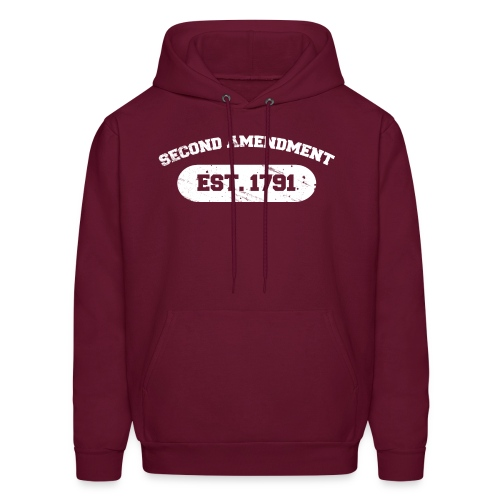 Hooded Sweater: Second Amendment - Men's Hoodie