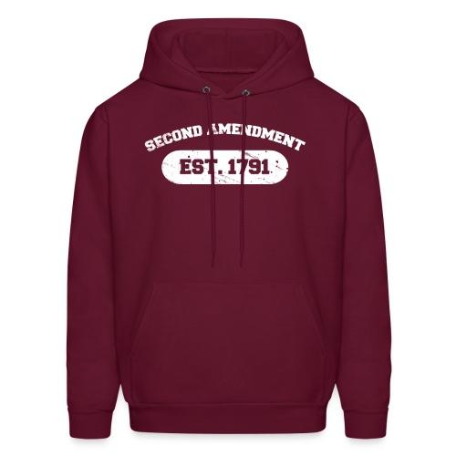 Hooded Sweater: Second Amendment - Men's Hoodie
