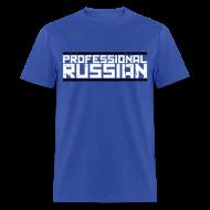 T-Shirts ~ Men's T-Shirt ~ Standard Tee: Professional Russian