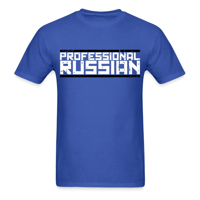 Standard Tee: Professional Russian - Men's T-Shirt