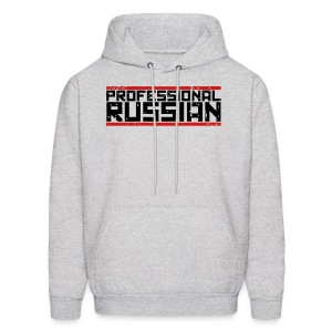 Hooded Sweater: Professional Russian - Men's Hoodie