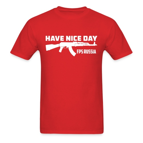 Standard Tee: Have Nice Day! - Men's T-Shirt