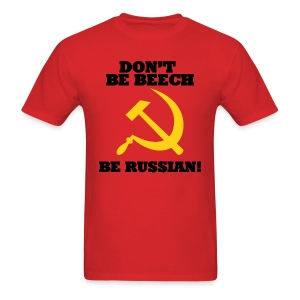 Standard Tee: Don't Be Beech! - Men's T-Shirt