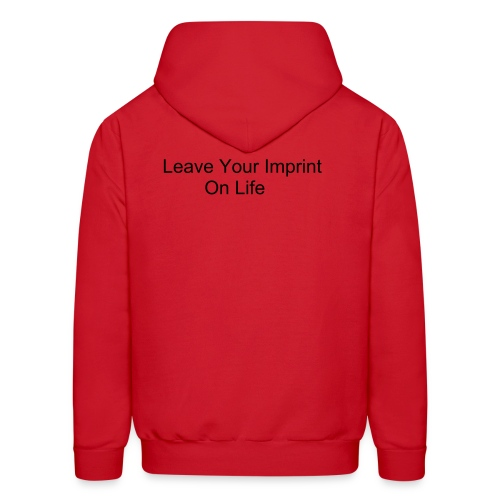 Leave Your Imprint On Life - Men's Hoodie