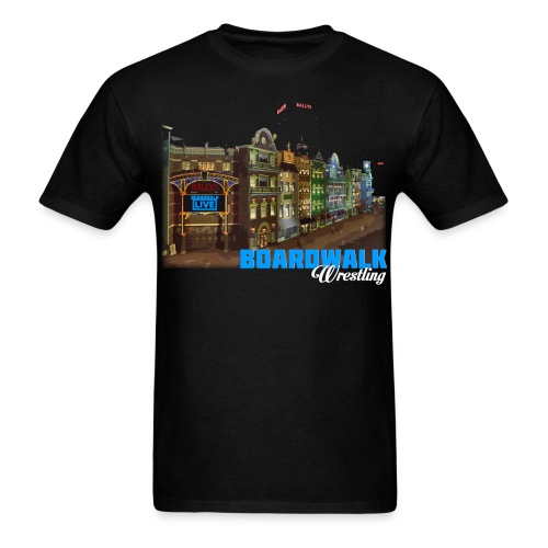 Boardwalk Wrestling - Men's T-Shirt