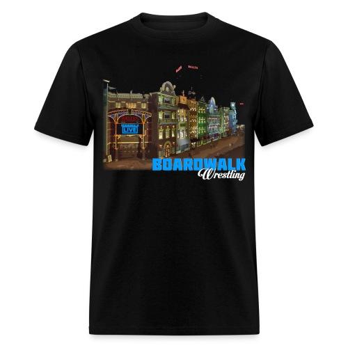 Boardwalk Wrestling - Men's T-Shirt