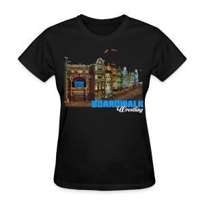 Boardwalk Wrestling - Women's T-Shirt