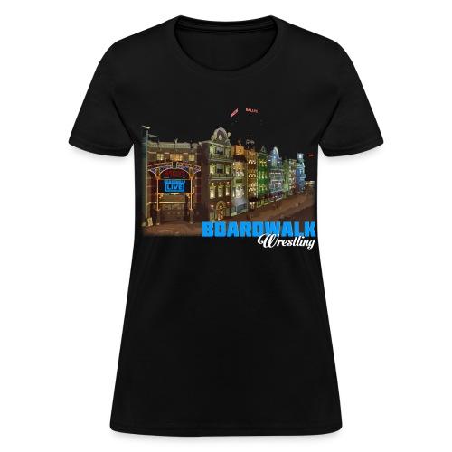 Boardwalk Wrestling - Women's T-Shirt