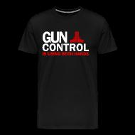 T-Shirts ~ Men's Premium T-Shirt ~ Premium Tee: Gun Control
