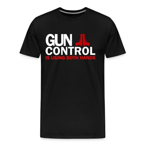 Premium Tee: Gun Control - Men's Premium T-Shirt