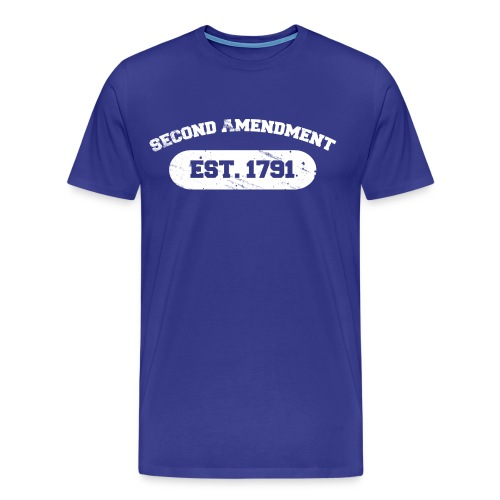Premium Tee: Second Amendment - Men's Premium T-Shirt