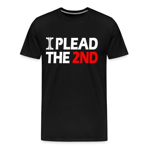 Premium Tee: Plead The Second - Men's Premium T-Shirt