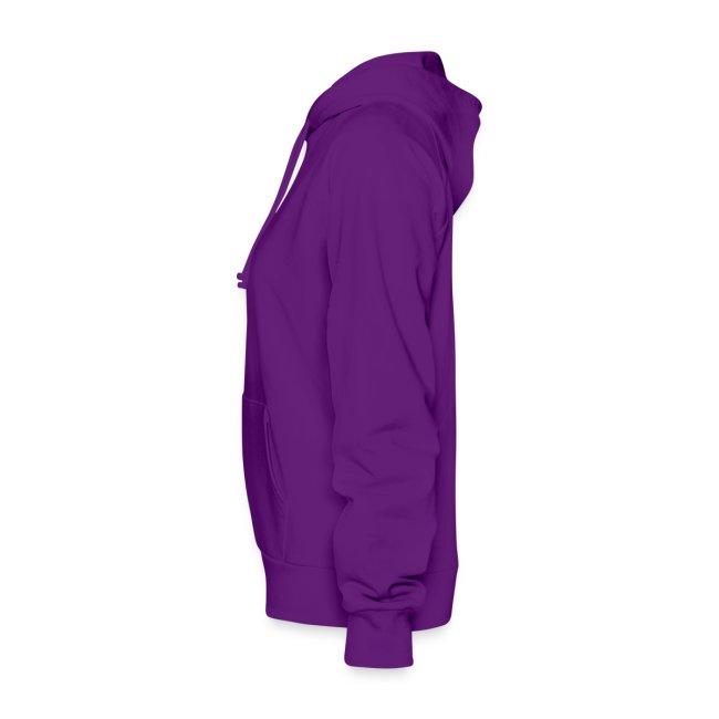 Ladies Hooded Sweater: Second Amendment