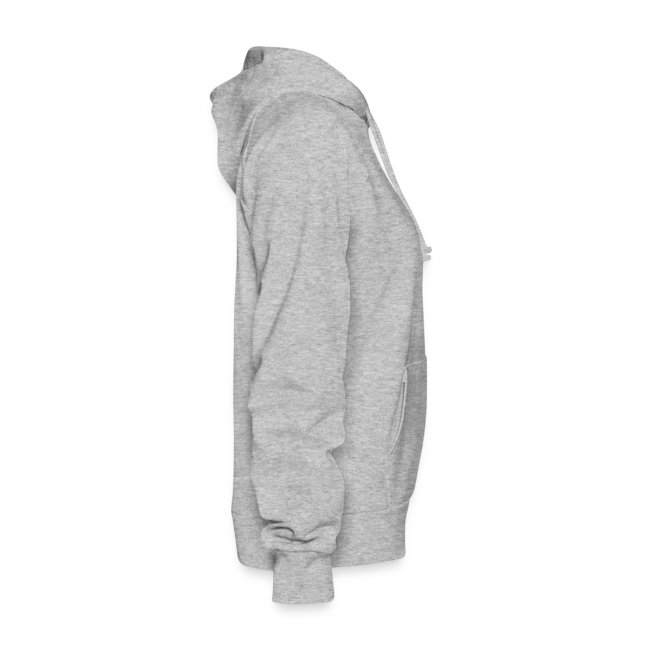 Ladies Hooded Sweater I Heart Pew Pew