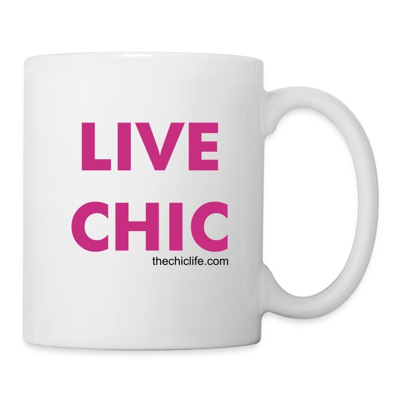Live Chic Flowy Tank Top - Coffee/Tea Mug