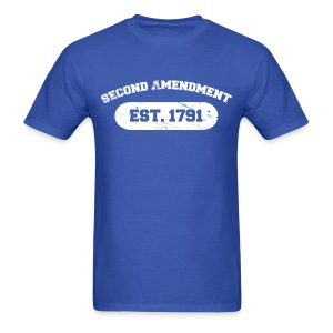 Standard Tee: Second Amendment - Men's T-Shirt