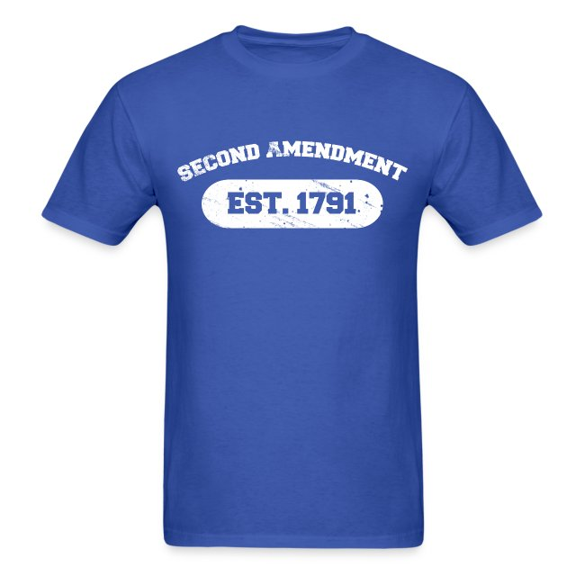 Standard Tee: Second Amendment