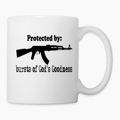 Protected By:  Bursts of God's Goodness Bottles & Mugs