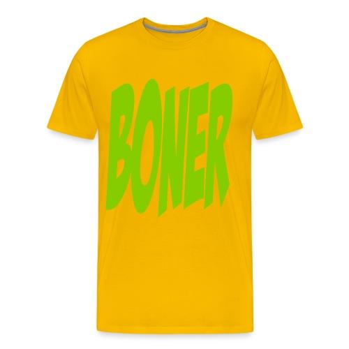 BONER - Men's Premium T-Shirt