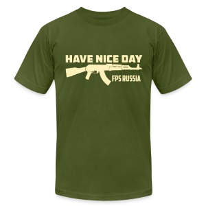 American Apparel: Have Nice Day - Men's T-Shirt by American Apparel