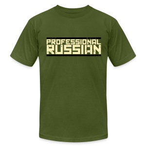 American Apparel: Professional Russian - Men's T-Shirt by American Apparel