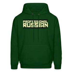 Hooded Sweater: Mil Style Professional Russian - Men's Hoodie