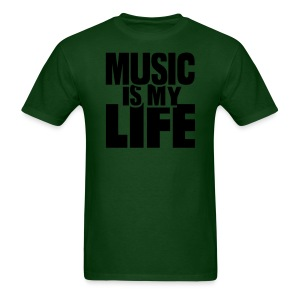 NEW!    Music Is My Life - Men's T-Shirt