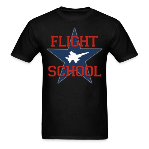Flight School - Men's T-Shirt