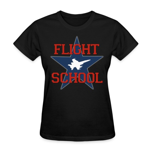 Flight School - Women's T-Shirt