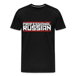 Premium Tee: Professional Russian - Men's Premium T-Shirt