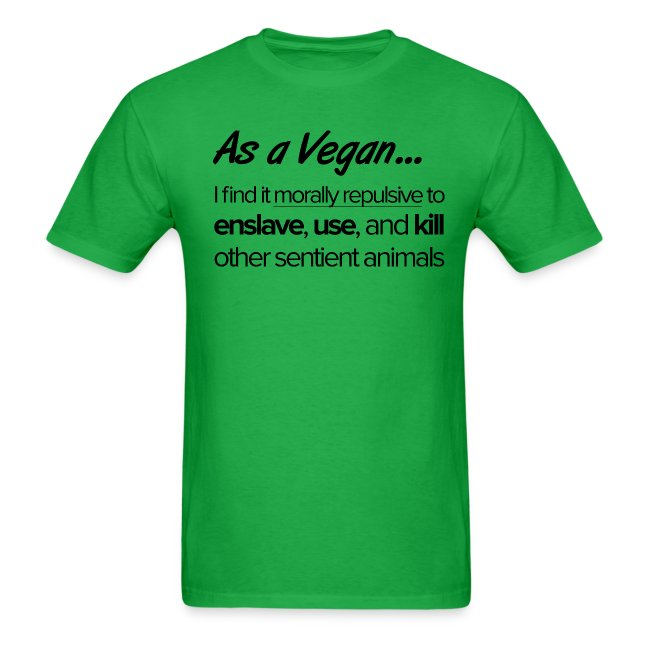 As a Vegan