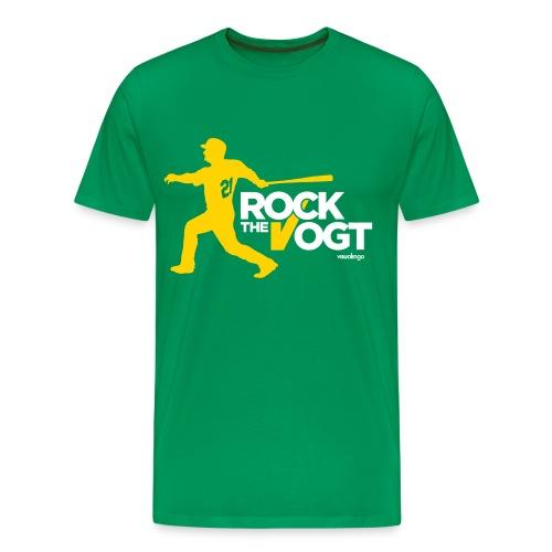 Rock the Vogt (Kelly) - Men's Premium T-Shirt