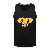 Tank Tops ~ Men's Premium Tank Top ~ Hellaphant Tank