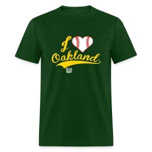 i Heart Oakland (mens) - Men's T-Shirt