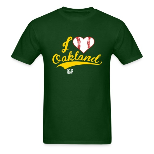 i Heart Oakland (mens) - Men's T-Shirt