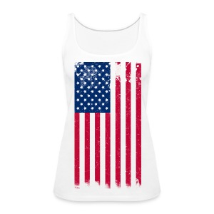 Women's Premium Tank Top - womens t-shirts,t-shirts,pick,natural hair t-shirts,natural hair,nappy,love,kinky,independence day,curly,crop top,coily,afro,American flag,4th of july