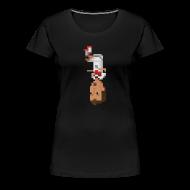 T-Shirts ~ Women's Premium T-Shirt ~ Women T-Shirt- German front flip