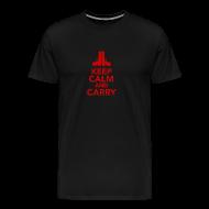 T-Shirts ~ Men's Premium T-Shirt ~ Premium Tee: Keep Calm