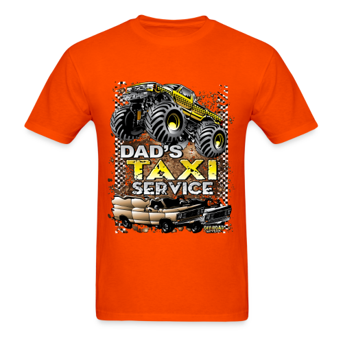 Dad's Taxi Servce - Men's T-Shirt