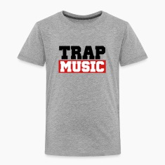 TRAP MUSIC - BASS PARTY Baby & Toddler Shirts