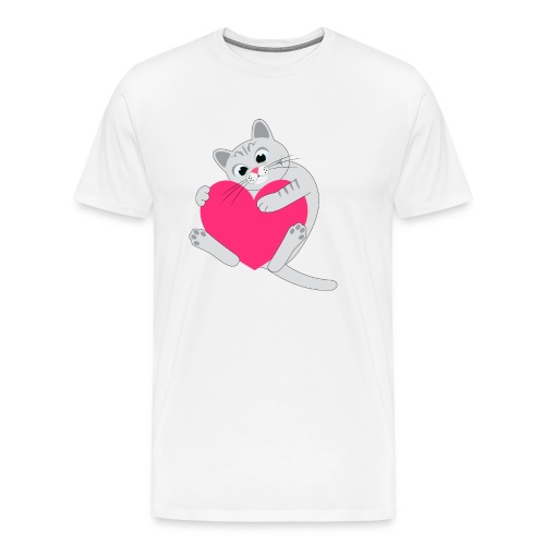 nala heart shirt - Men's Premium T-Shirt