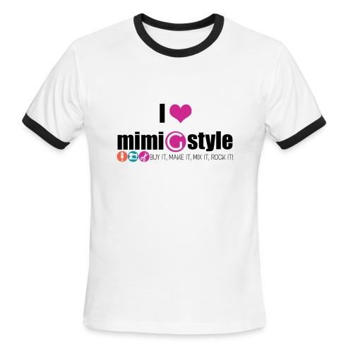 Mens I Heart Mimi G - Men's Ringer T-Shirt