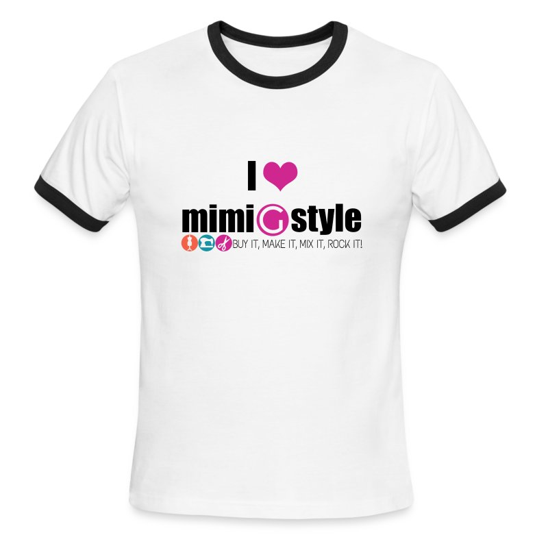 Mens I Heart Mimi G - Men's Ringer T-Shirt