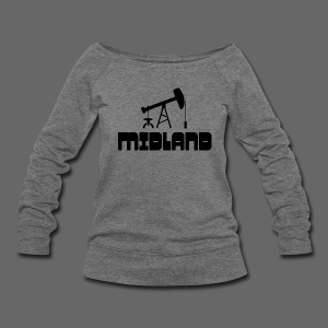 Midland - Women's Wideneck Sweatshirt