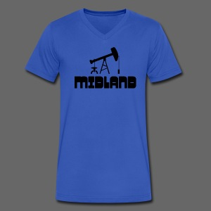 Midland - Men's V-Neck T-Shirt by Canvas