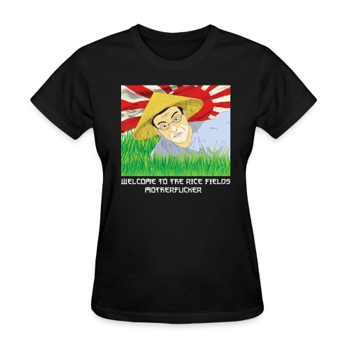 WELCOME TO THE RICEFIELDS BLACK WOMEN - Women's T-Shirt