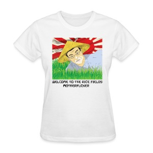 WELCOME TO THE RICE FIELDS WOMEN - Women's T-Shirt