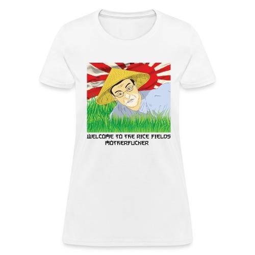 WELCOME TO THE RICE FIELDS WOMEN - Women's T-Shirt